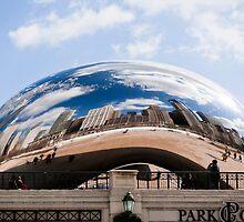 Chicago Millenium Park by Noleen  Kavanagh