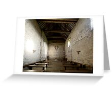 St Peter's on the Wall Greeting Card