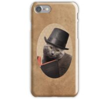 Sir Sophisticat iPhone Case/Skin