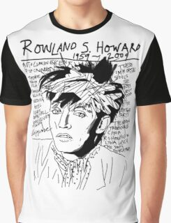 Rowland S. Howard Tribute Graphic T-Shirt