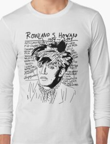Rowland S. Howard Tribute Long Sleeve T-Shirt