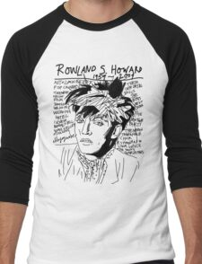 Rowland S. Howard Tribute Men's Baseball ¾ T-Shirt
