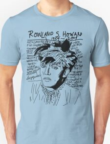 Rowland S. Howard Tribute T-Shirt