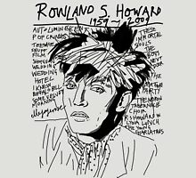 Rowland S. Howard Tribute Unisex T-Shirt