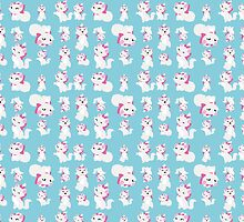 Marie, No Outline Pattern - The Aristocats by steffirae