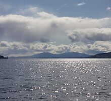 The Isle of Arran...from the Clyde off Greenock by wjohnd