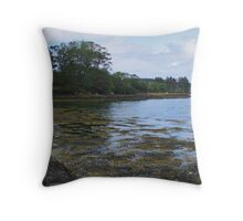Tranquility at Sheephaven Throw Pillow