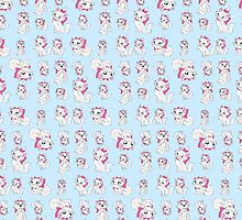 Marie Pattern - The Aristocats by steffirae
