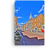 Rochester High  Street (HDR) Canvas Print