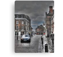 Rochester in the rain  Canvas Print