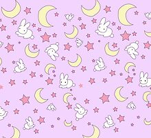 Sailor Moon Inspired Pattern by steffirae