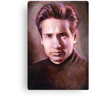Fox Mulder Canvas Print
