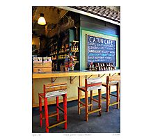 """Cajun Cafe"" New Orleans French Market Photographic Print"