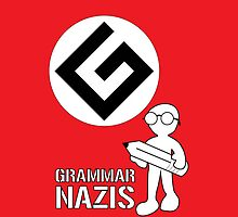 Grammar Nazi Nerd case by DLManiac