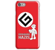 Grammar Nazi Nerd case iPhone Case/Skin