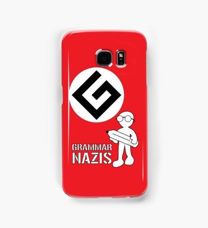 Grammar Nazi Nerd case Samsung Galaxy Case/Skin