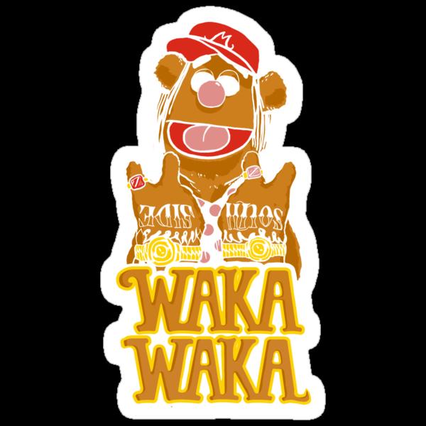 waka waka flame by TeeKetch