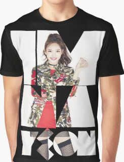 TWICE 'Im Na-yeon' Typography Graphic T-Shirt