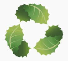 Green Leaf Recycle Icon Kids Clothes
