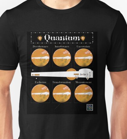 """Sheldon Wears Quantum - ORANGE""© Unisex T-Shirt"