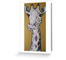 Tall Story Greeting Card