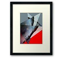 Fractured Skies Framed Print