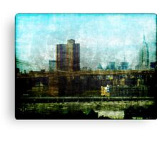 Manhattan View Canvas Print