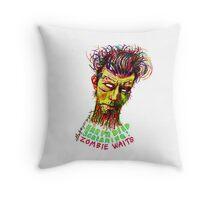 Zombie Waits Throw Pillow