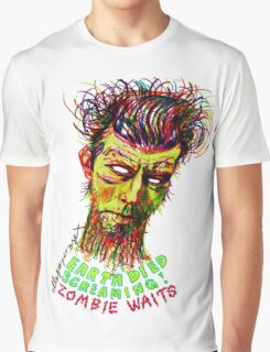 Zombie Waits Graphic T-Shirt
