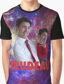 Justin Trudeau Galaxy Graphic T-Shirt