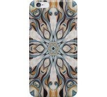 Baroque Earth tones Rosette- R107 iPhone Case/Skin