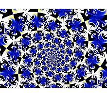 Gnolstic Blue Gnarl  Photographic Print