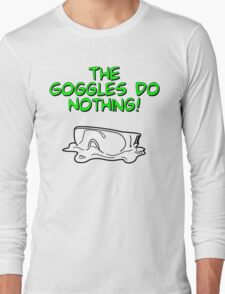 Safety Goggles Long Sleeve T-Shirt