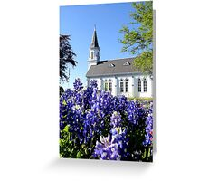 Bathed in Bluebonnets Greeting Card
