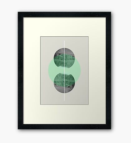 Mirror Ball Framed Print