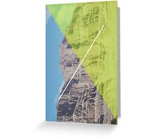 Vertical Diagonal Greeting Card