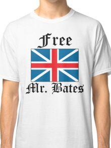 Free Mr. Bates Classic T-Shirt