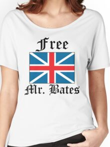 Free Mr. Bates Women's Relaxed Fit T-Shirt