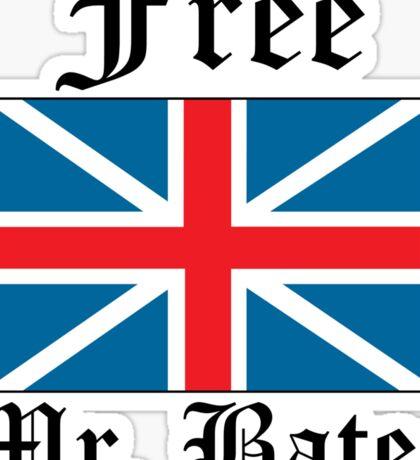 Free Mr. Bates Sticker