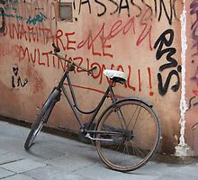 Bike, Venice by John Douglas
