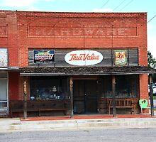 Route 66 - Hardware Store, Erick, Oklahoma by Frank Romeo