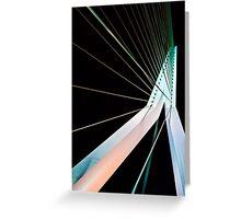 The Erasmus Bridge Greeting Card
