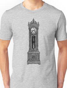 Grandpa Clock lines Unisex T-Shirt