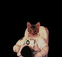 Cat Astronaut by Tikhi