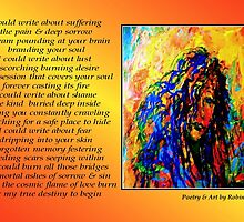 Poetry in Art - I Could... by Robin Monroe
