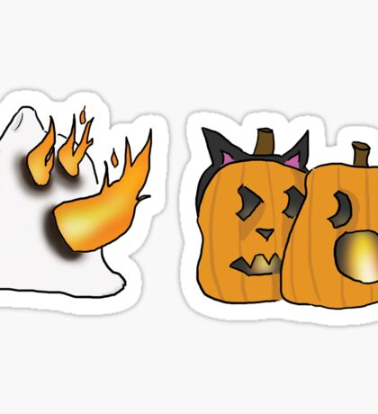 Jack-O'-NO Sticker