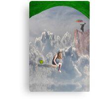 Climbing Mountains Canvas Print