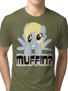 Derpy Hooves - Muffin? Tri-blend T-Shirt