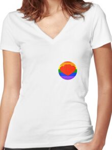 Marriage Equality Women's Fitted V-Neck T-Shirt