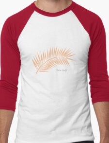 Palm Leaf 1 Men's Baseball ¾ T-Shirt